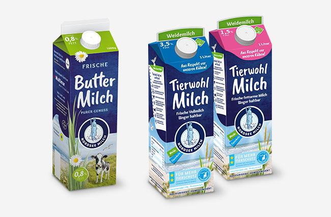 Tierwohl Milch Buttermilch Nordsee Milch