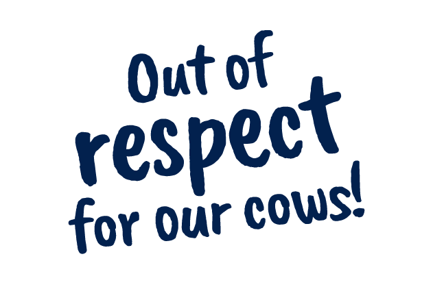 respect for our cows – Tierwohl Milch